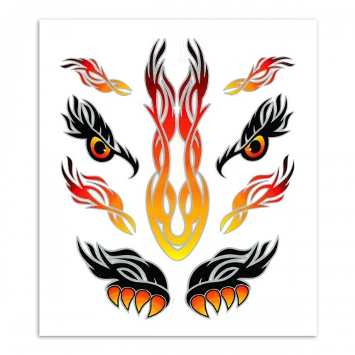 EYES TRIBAL STICKER