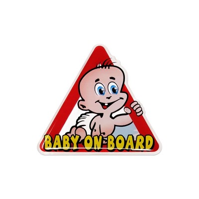 Baby on board 3D sticker